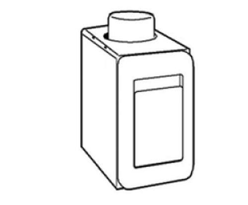 VACUCLEAN Aufputzsaugdosengehäuse inkl. Metall Saugdose weiß