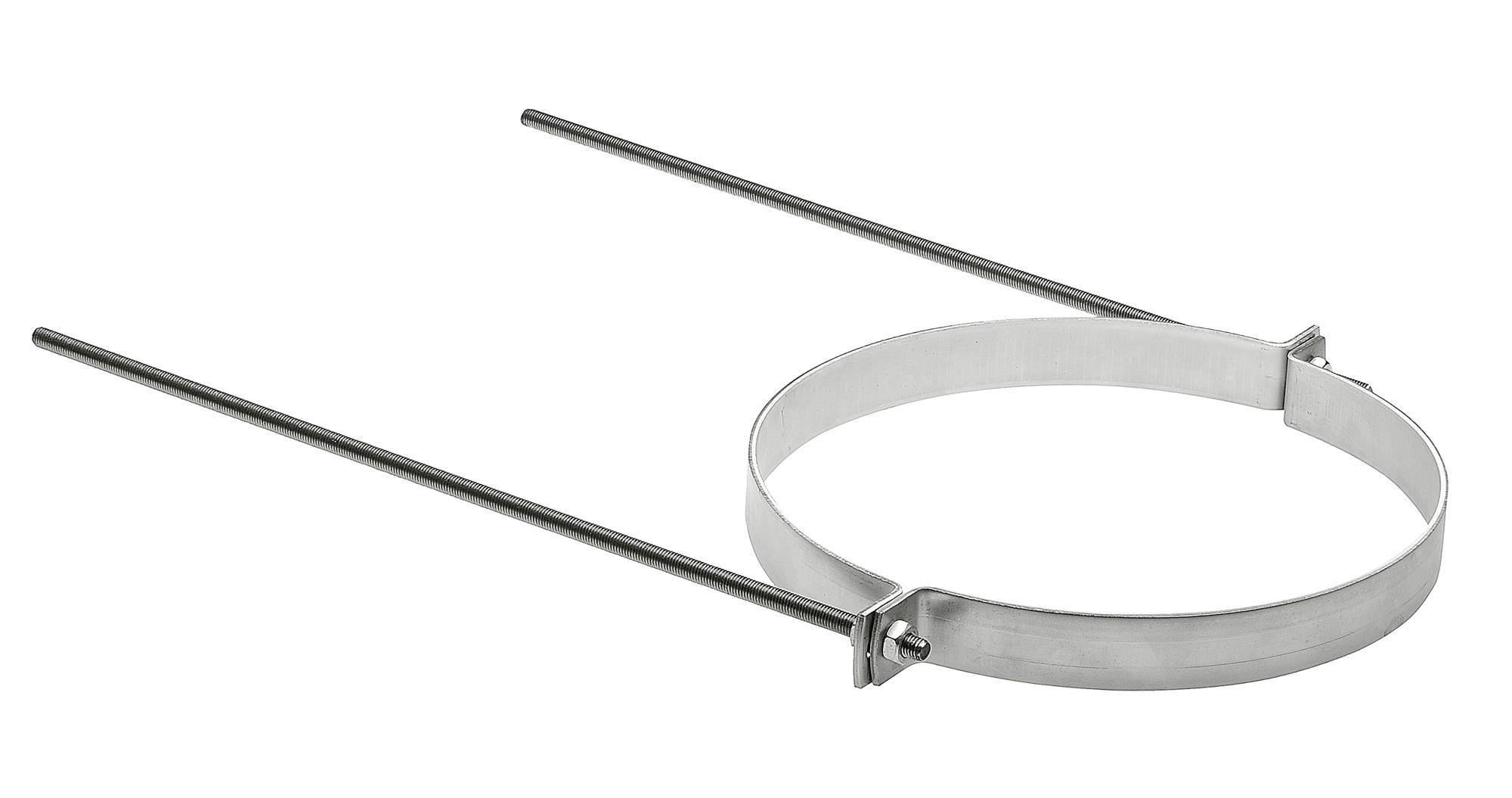 Rohrhalterung Edelstahl Ø 250mm