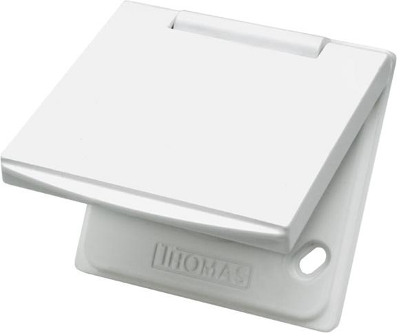 Premium MU 1 Metall weiß Saugdose THOMAS