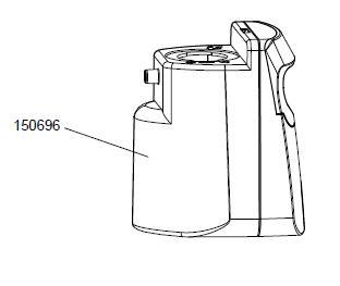 Clean Water Tank für Bionic WashStick