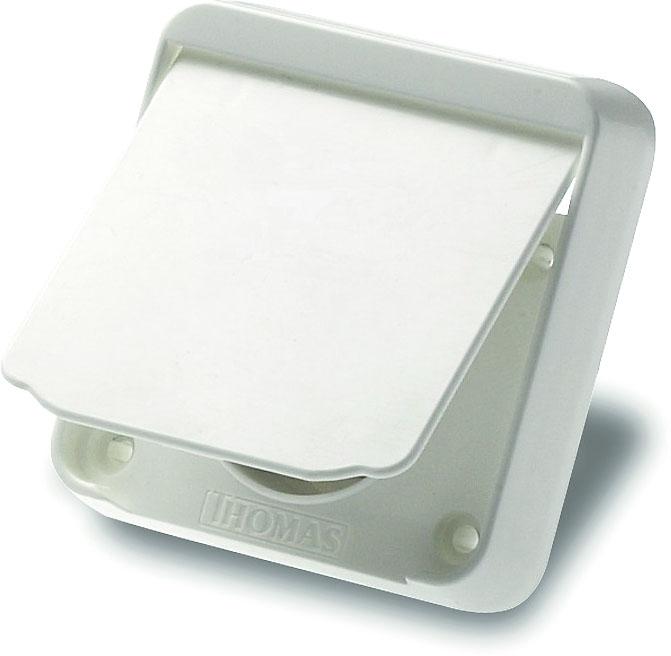 Standard (nur Funk) Kunststoff weiß Saugdose THOMAS