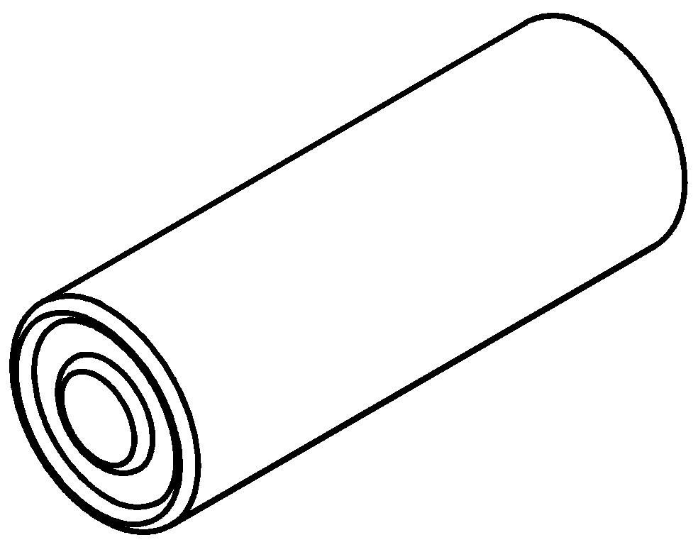 Batterie für THOMAS Funksaugschlauch bis 2016 Schwarz
