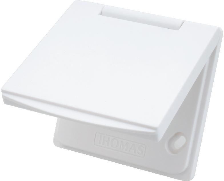 Premium KU 1 Kunststoff weiß Saugdose THOMAS